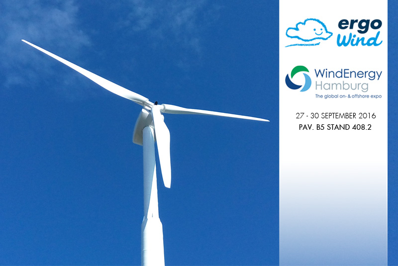 Ergo Wind at the WindEnergy Hamburg Expo