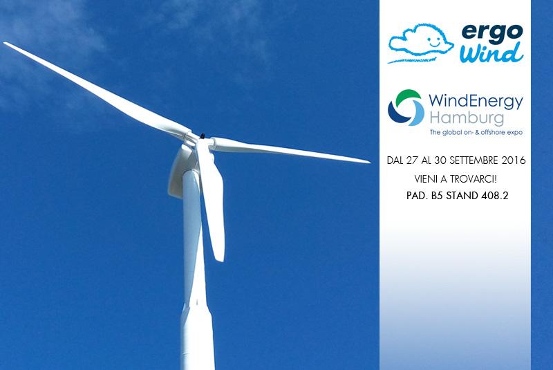 Ergo Wind sarà presente alla WindEnergy Hamburg Exhibition